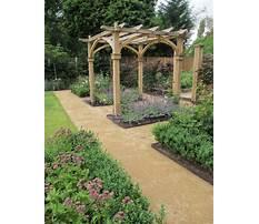 Rustic garden trellis designs Plan