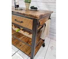 Rustic kitchen cart island.aspx Plan
