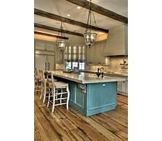 Rustic kitchen island top Plan
