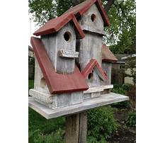 Rustic recycled bird house for sale Plan
