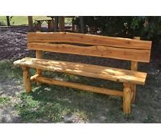 Rustic wood bench designs.aspx Plan