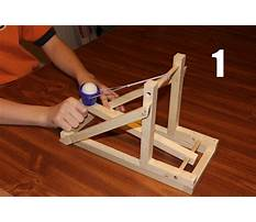 School catapult science project Plan