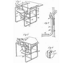 School desk patents Plan