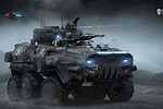 Sci-Fi War Vehicles