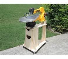 Scroll saw table Plan