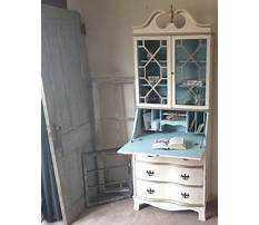 Secretary desk with hutch in south jersey Plan