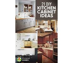 Self build kitchen cabinet plans Plan