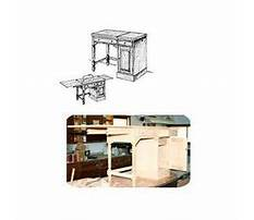 Sewing cabinet plans.aspx Plan