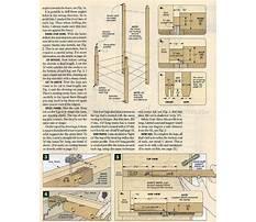 Shaker rocking chair plans.aspx Plan