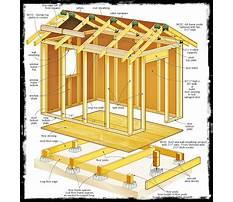 Shed 8 x 10 free 8x10 shed plans Plan