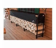 Shelterlogic covered firewood rack Plan