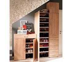 Shoe storage cupboard design Plan