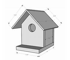 Simple birdhouse designs Plan