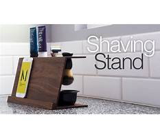 Simple diy shaving stand easy woodworking projects Plan