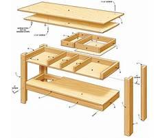 Simple diy workbench Plan