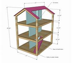 Simple dollhouse blueprints Plan