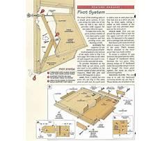 Simple drafting table plans Plan