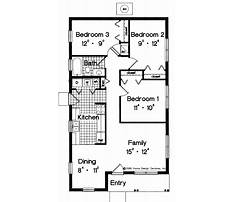 Simple easy to build house plans Plan