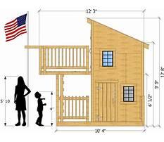Simple playhouse plans free Plan