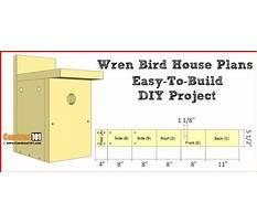 Simple wren birdhouse plans Plan