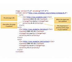 Sitemap xml format example Plan
