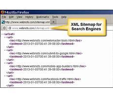 Sitemap xml format reader Plan