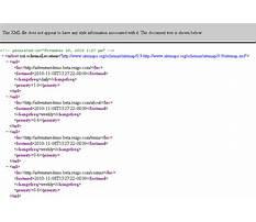 Sitemap xml formatting rules Plan