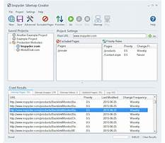Sitemap xml formatting tool Plan