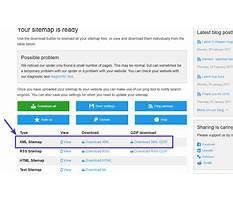 Sitemap xml parameters in statistics Plan