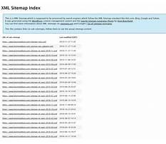 Sitemap xml priority Plan