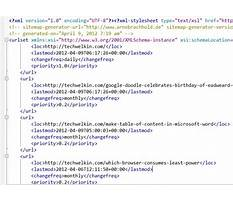 Sitemap10 xml formatters Plan