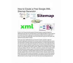 Sitemaps xml formatter free Plan