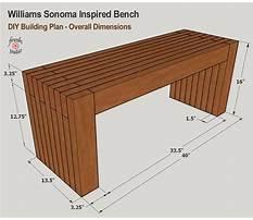 Sitting bench plans.aspx Plan