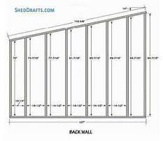 Slant roof shed design.aspx Plan