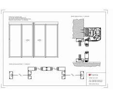Sliding glass cabinet doors Plan