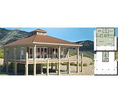 Small beach house plans under 1000 sq ft Plan