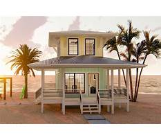 Small beach house plans with porches Plan