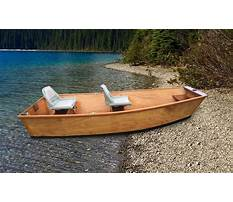 Small boat kits to build Plan