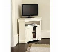Small corner media cabinet Plan