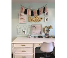 Small desks for girls Plan