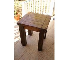 Small end table woodworking plans Plan