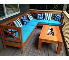 Small garden table and chairs Plan
