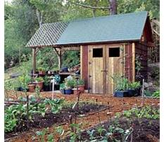 Small garden tool shed.aspx Plan