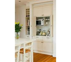 Small kitchen cabinets for storage Plan