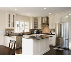 Small l shaped kitchen designs with island Plan