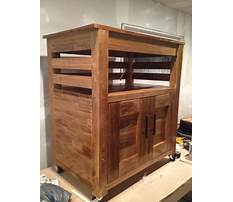 Small microwave carts with storage Plan