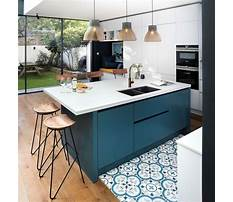 Small modern kitchen island designs Plan