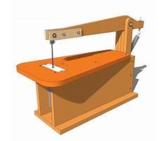 Small scroll saws Plan