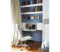 Small shelves for office Plan