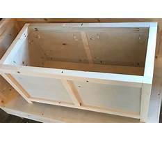 Small storage chest plans Plan